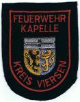 Viersen Kreis Feuerwehr Kapelle rot
